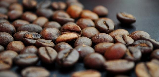 Espresso und Kaffee an der mobilen Espressobar