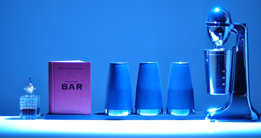 An der mobilen Cocktailbar