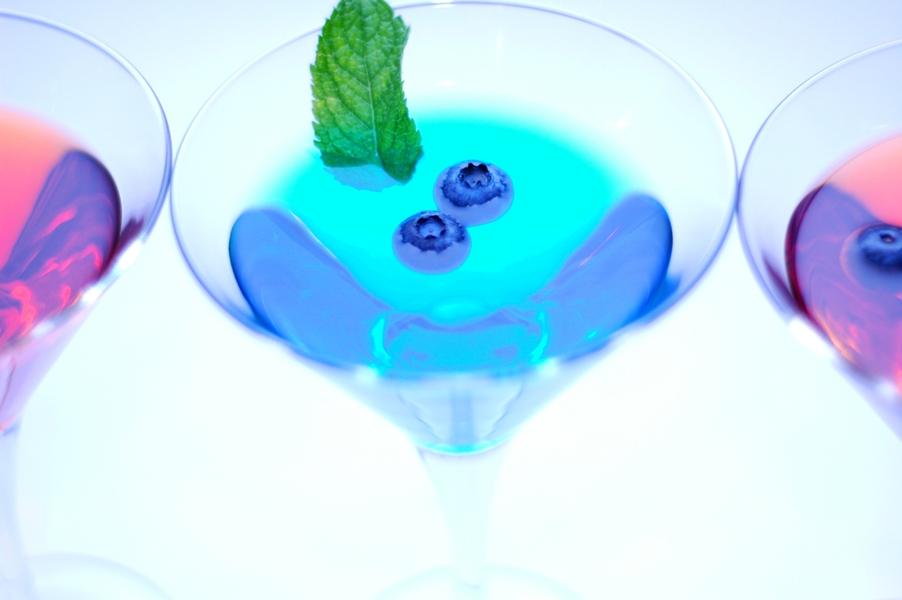 Cocktails an der mobilen Cocktailbar