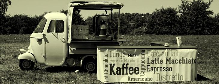 Kaffeedreirad - APE 50 mit Vollausstattung