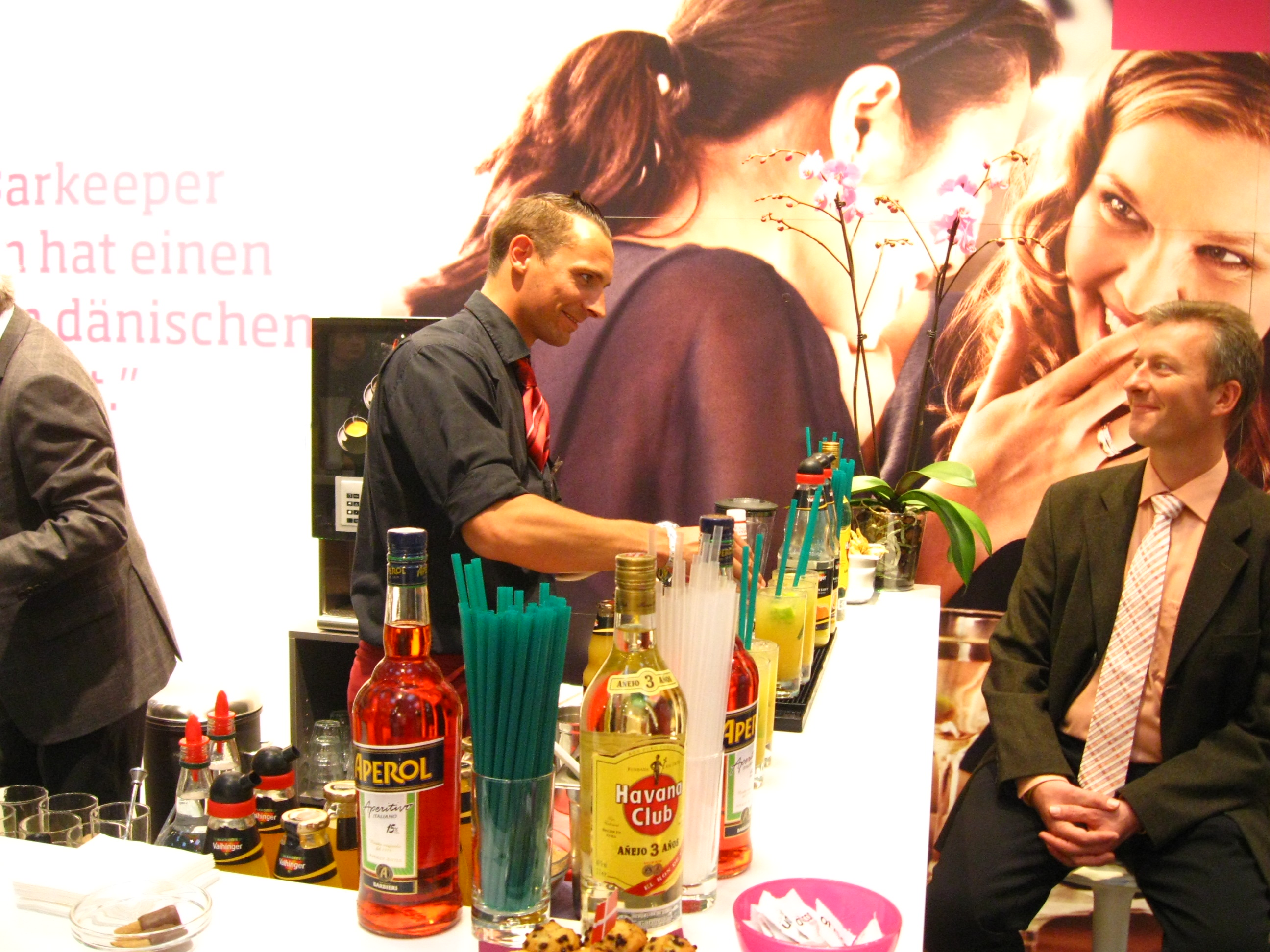 Mobile Cocktailbar in Hannover auf dem EUHA